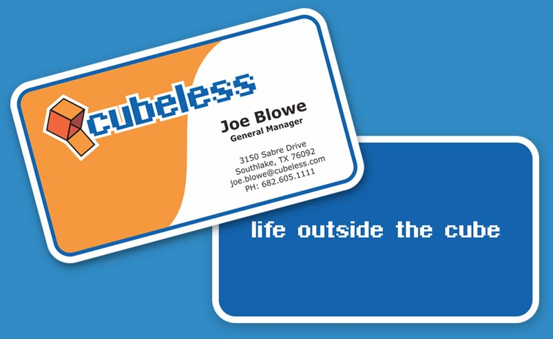 Cubeless Business Cards