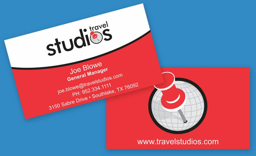 Travel Studios Business Cards